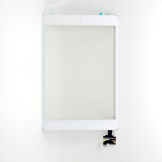For Apple iPad Mini Touch Display Assembly with Touchpad White Colour