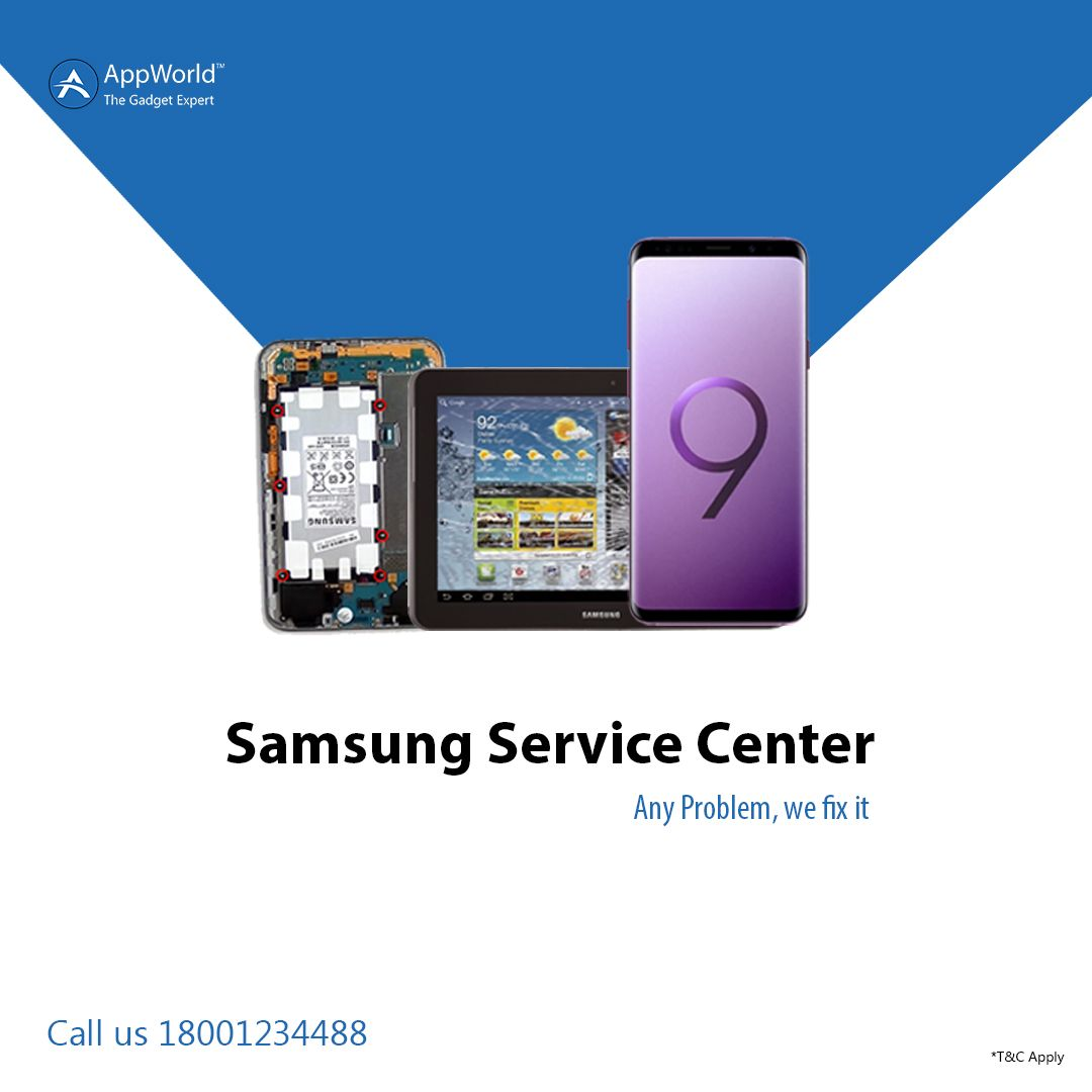 AppWorld providing Best Service or Repair on Samsung Mobiles