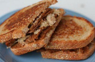 Vegan reuben sandwich! o.m.g. fiance would love this