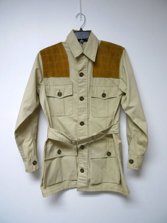 b246a647deee5 10-X America's Finest Sport Clothing . designed by Sportsmen . shooting / hunting  jacket . size 36