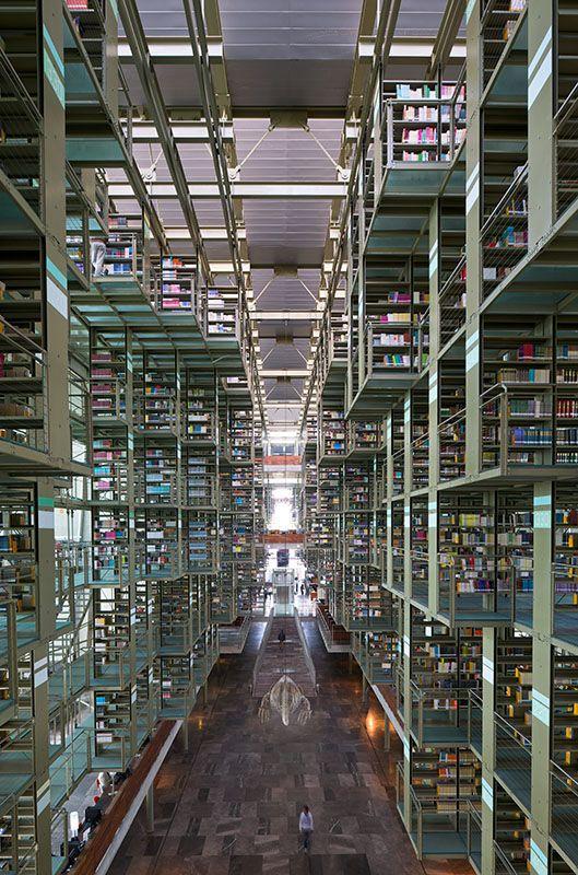 Galeria De Biblioteca Jose Vasconcelos Taller De Arquitectura X