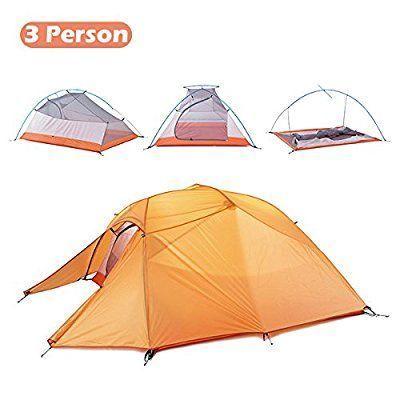 Triwonder 1 2 3 Person 4 Season Camping Tent Lightweight