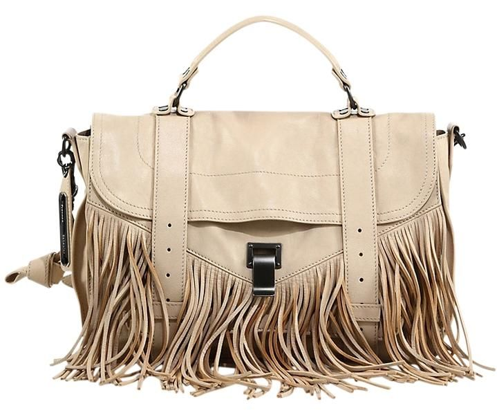 Proenza Schouler Ps1 Medium Fringe Shoulder Bag. Get one of the hottest styles of the season! The Proenza Schouler Ps1 Medium Fringe Shoulder Bag is a top 10 member favorite on Tradesy. Save on yours before they're sold out!