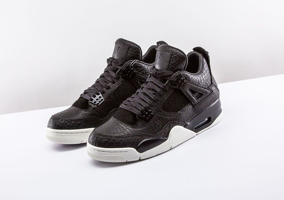 Jordan Brand Brings Reptile Skin And Pony Hair To The Air Jordan 4 Pinnacle  - SneakerNews 2ee2205ad