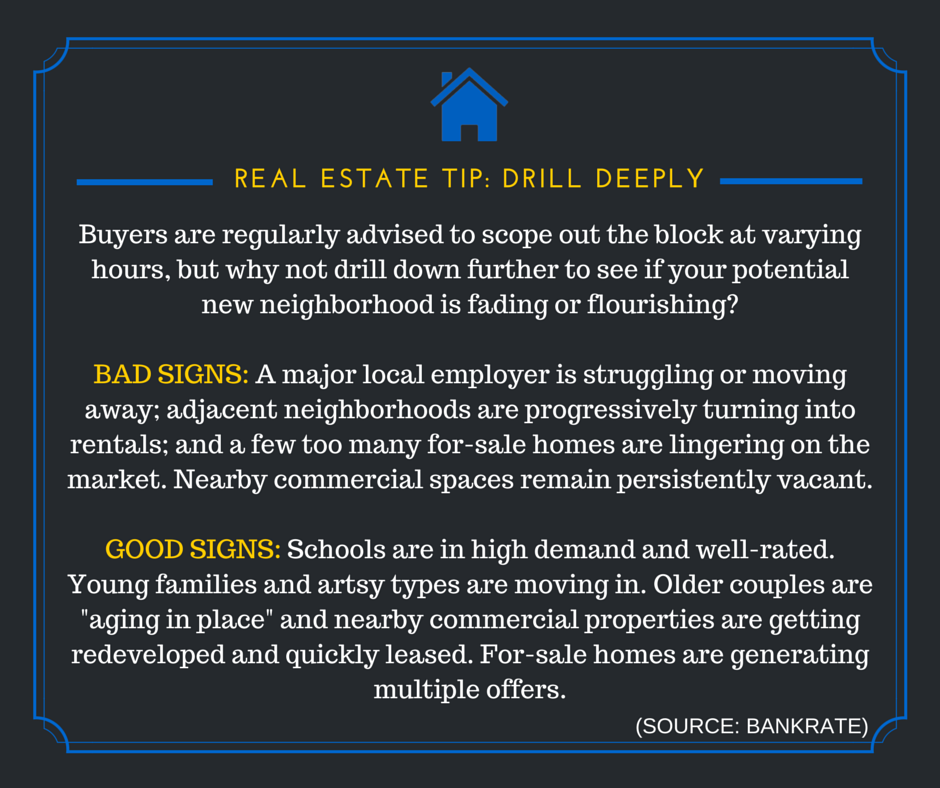 REAL ESTATE TIPS: Drill Deeply ‪#‎realestatebusiness‬ ‪#‎realestatemarket‬ ‪#‎realestatetips‬ ‪#‎tuesdaytip‬
