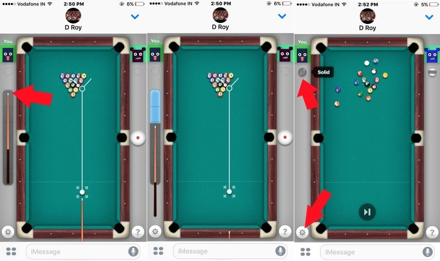 how to play 8 ball on iphone xr
