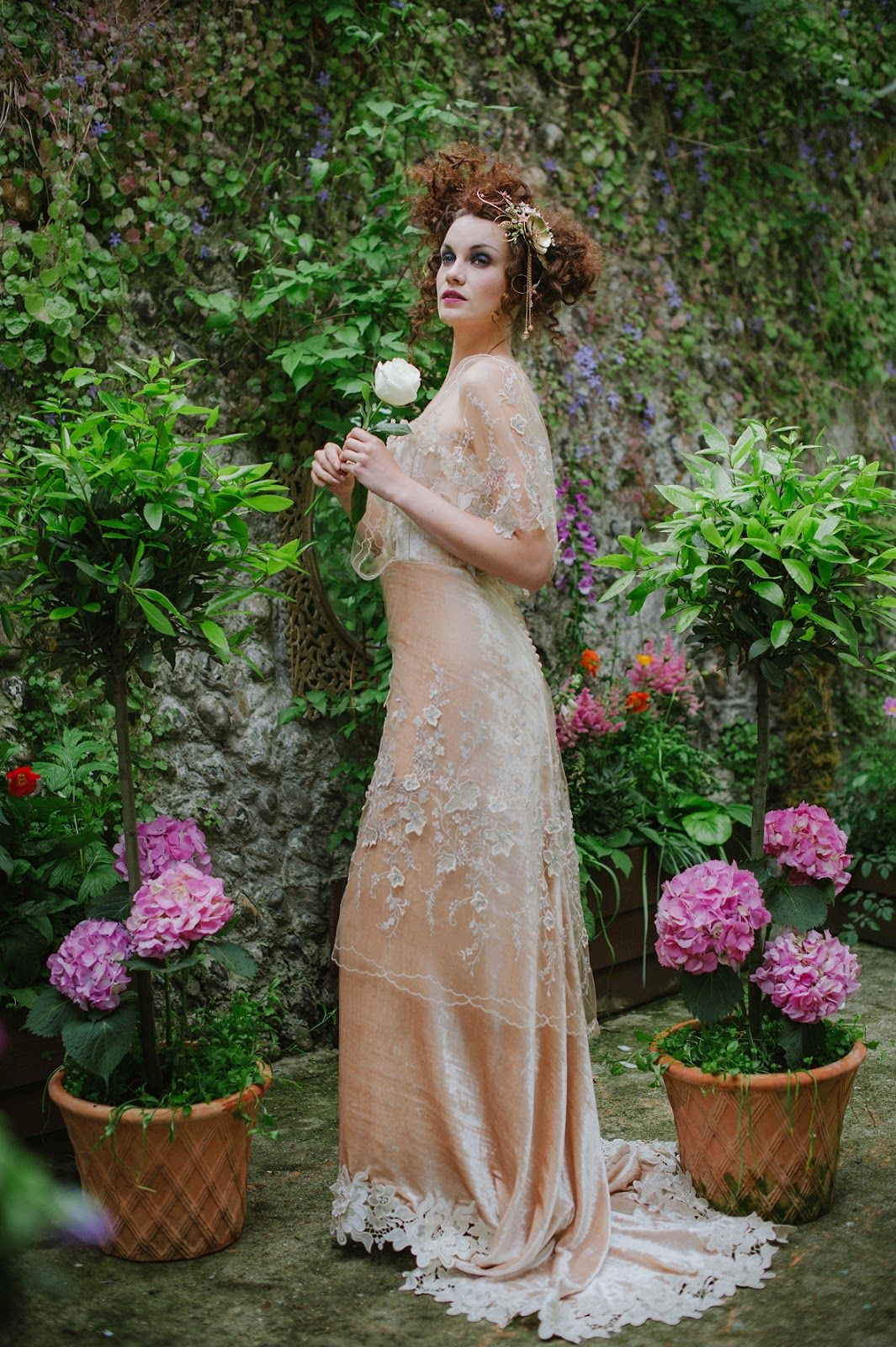 Joanne Fleming Design: \'Gabrielle Ray\'......Edwardian style silk ...