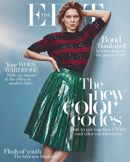 Léa Seydoux for The Edit Magazine November 05th 2015 - Art8amby's Blog