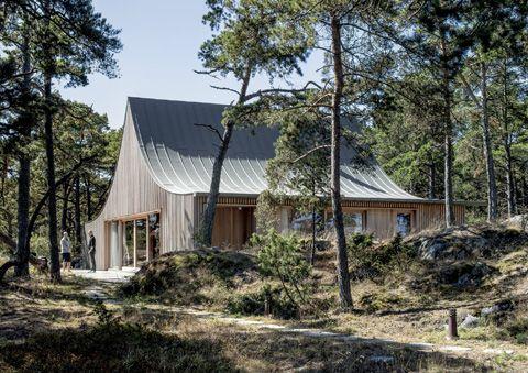 Casa Krokholmen Krokholmen House Tham, Bolle & Videgård, Martin Stockholm Archipelago, Sweden 2012-2015
