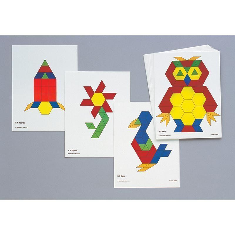 Pattern Block Activity Cards Pattern Blocks Math Patterns