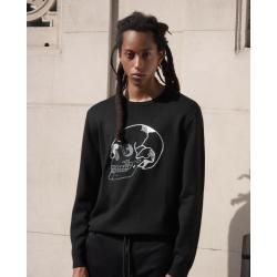 The Kooples - Skull embroidered black sweater - Damen #rockandrolloutfits