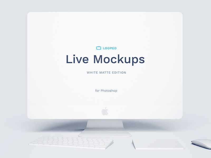 White Clay Mockups Collection Free Psd Mockup Website Mockup Free Website Mockup