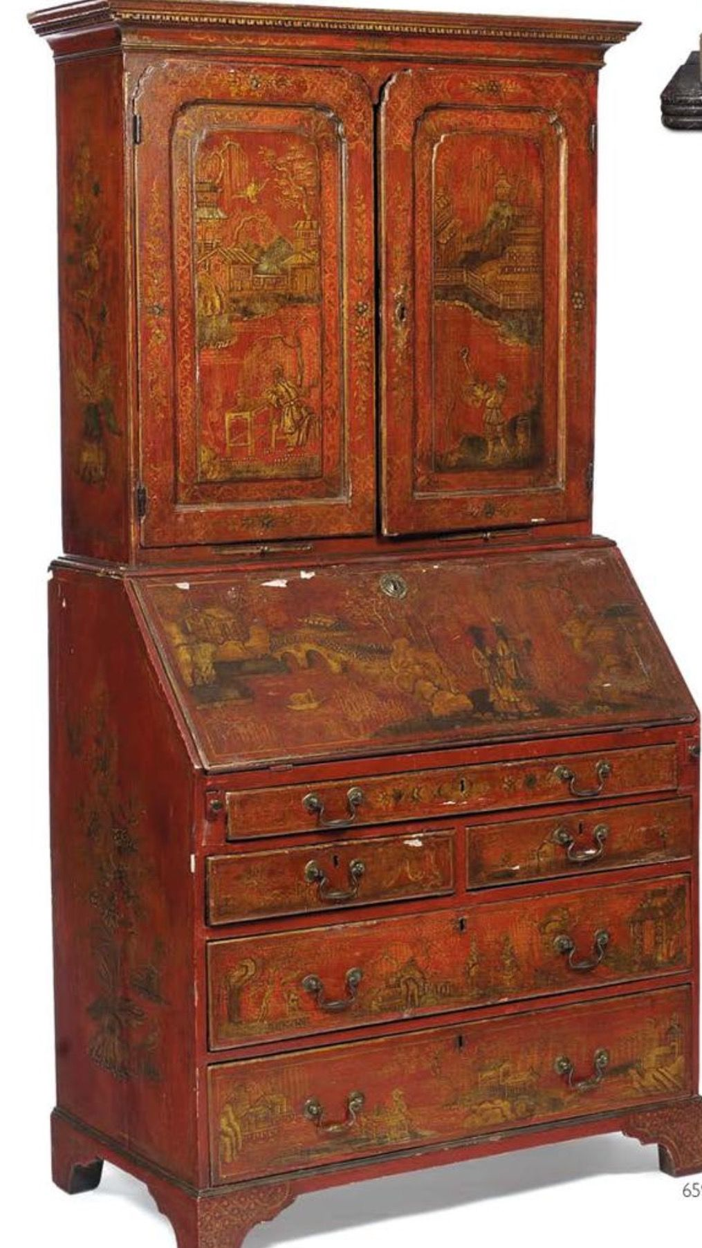 Amazing Chinoiserie, Paint Furniture, Oriental, Red, Color Schemes