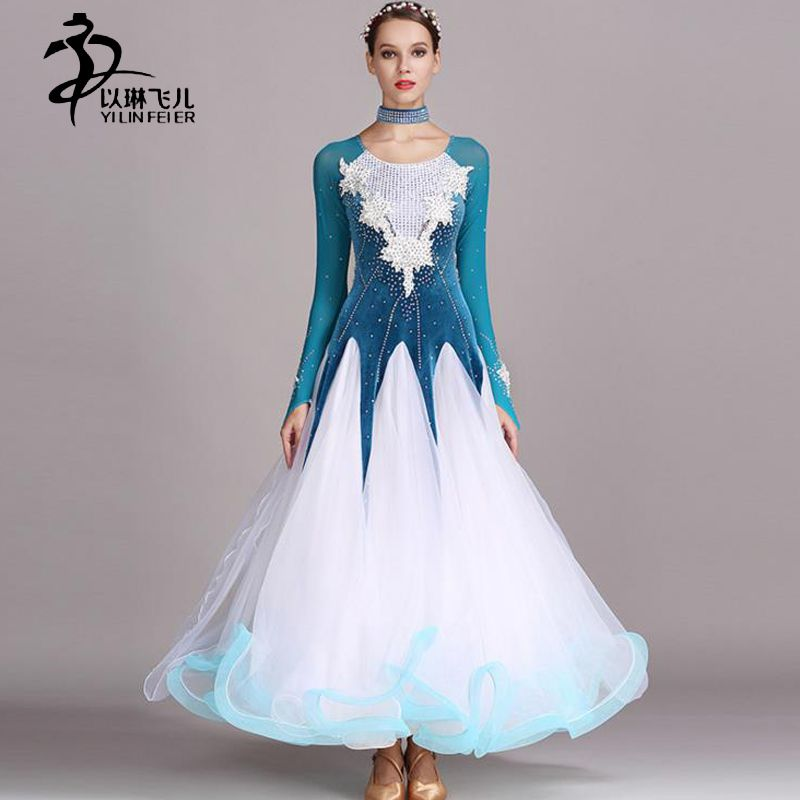 1de1e84b8bce Cheap competition waltz dresses, Buy Quality ballroom dance competition  dresses directly from China ballroom waltz