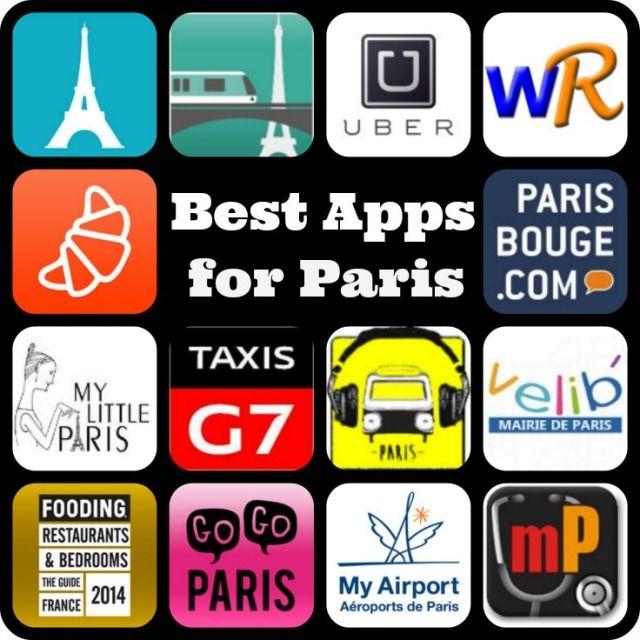 Best apps for Paris