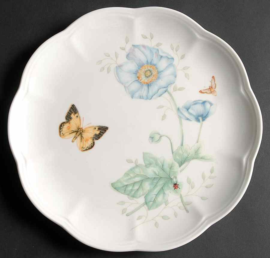 Butterfly meadow accent luncheon plate by lenox lenox