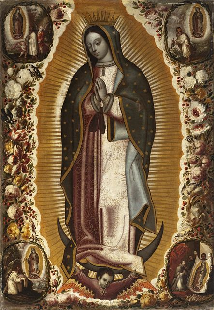 Manuel de Arellano (Mexico, active 1691-circa 1722)    Virgin of Guadalupe (Virgen de Guadalupe), 1691