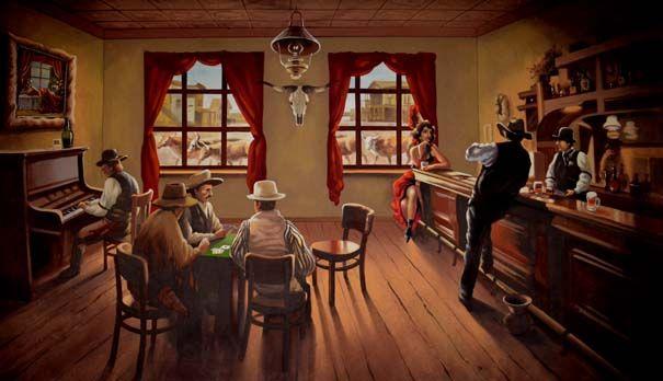 saloon western friseur