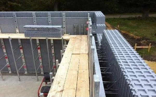Icf Insulated Concrete Forms Insulated Concrete Forms Concrete Houses Sustainable Building Materials