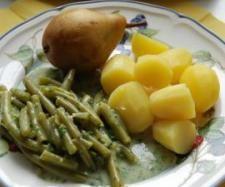 Rezept All-In-One Birnen Bohnen Kartoffeln Speck von MuckTm31 - Rezept der Kategorie Hauptgerichte mit Fleisch
