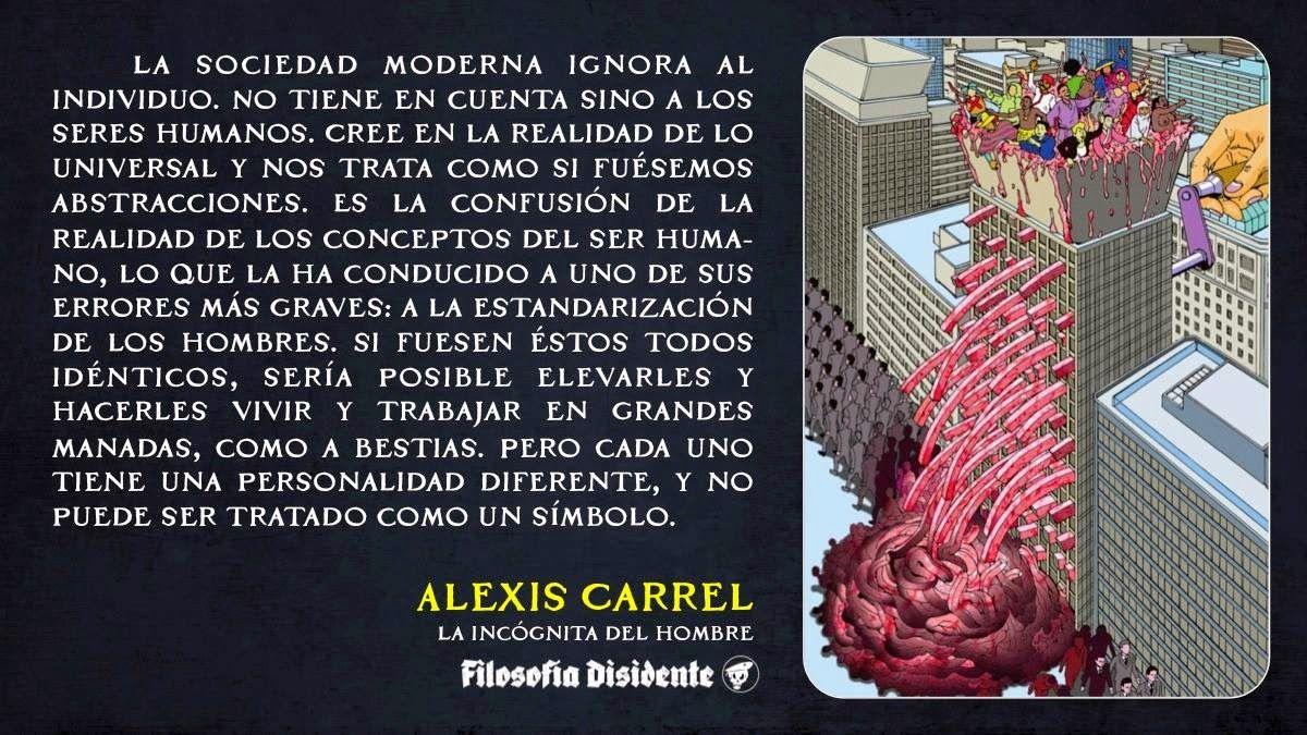 ... La estandarización de los individuos. http://noalcomunismonialcapitalismo.blogspot.com.es/2014/09/el-valor-del-individuo-en-el-nucleo.html http://noalcomunismonialcapitalismo.blogspot.com.es/2014_09_01_archive.html