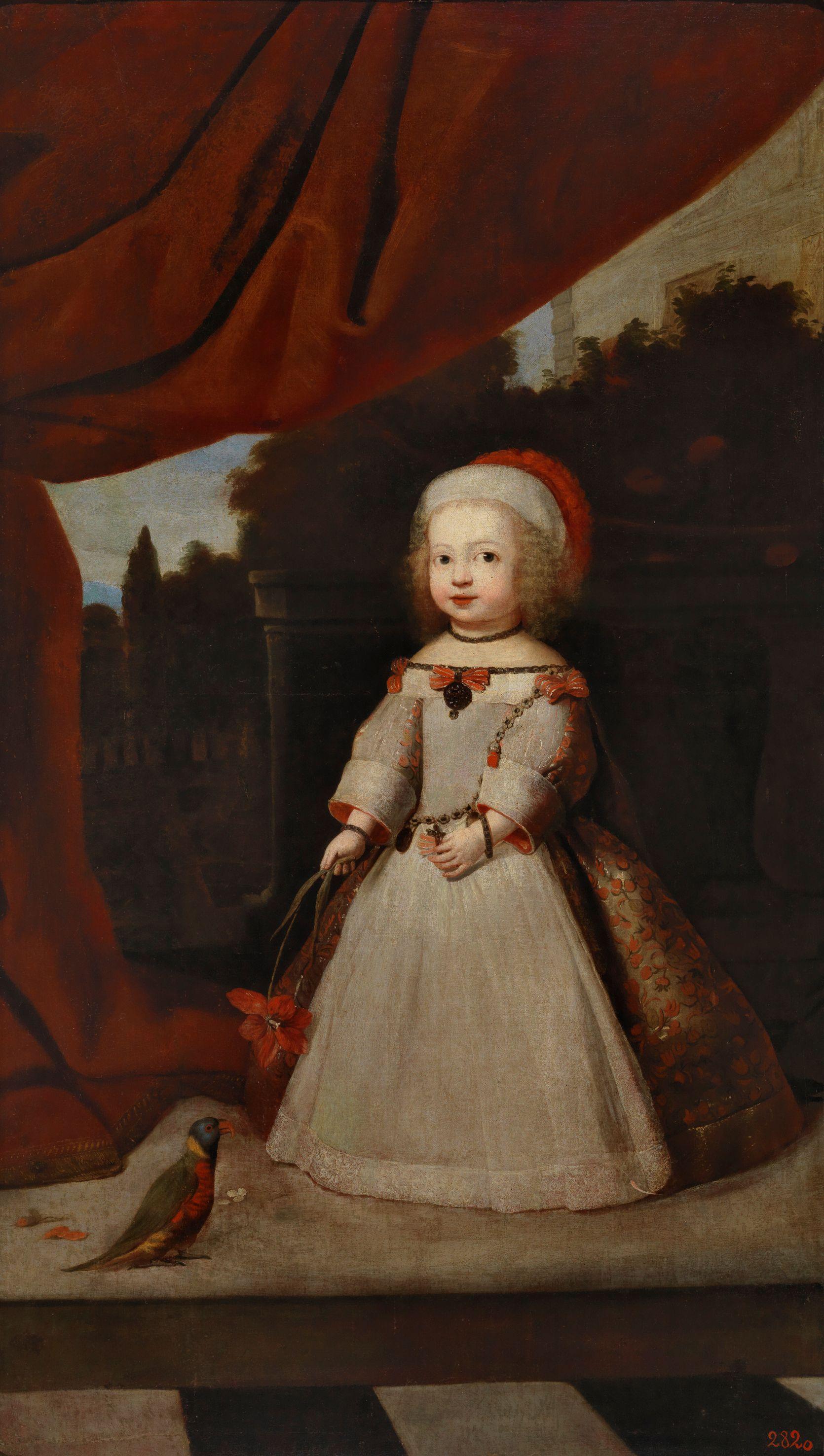 e54910d2a Retrato de una infanta (La archiduquesa Leonora
