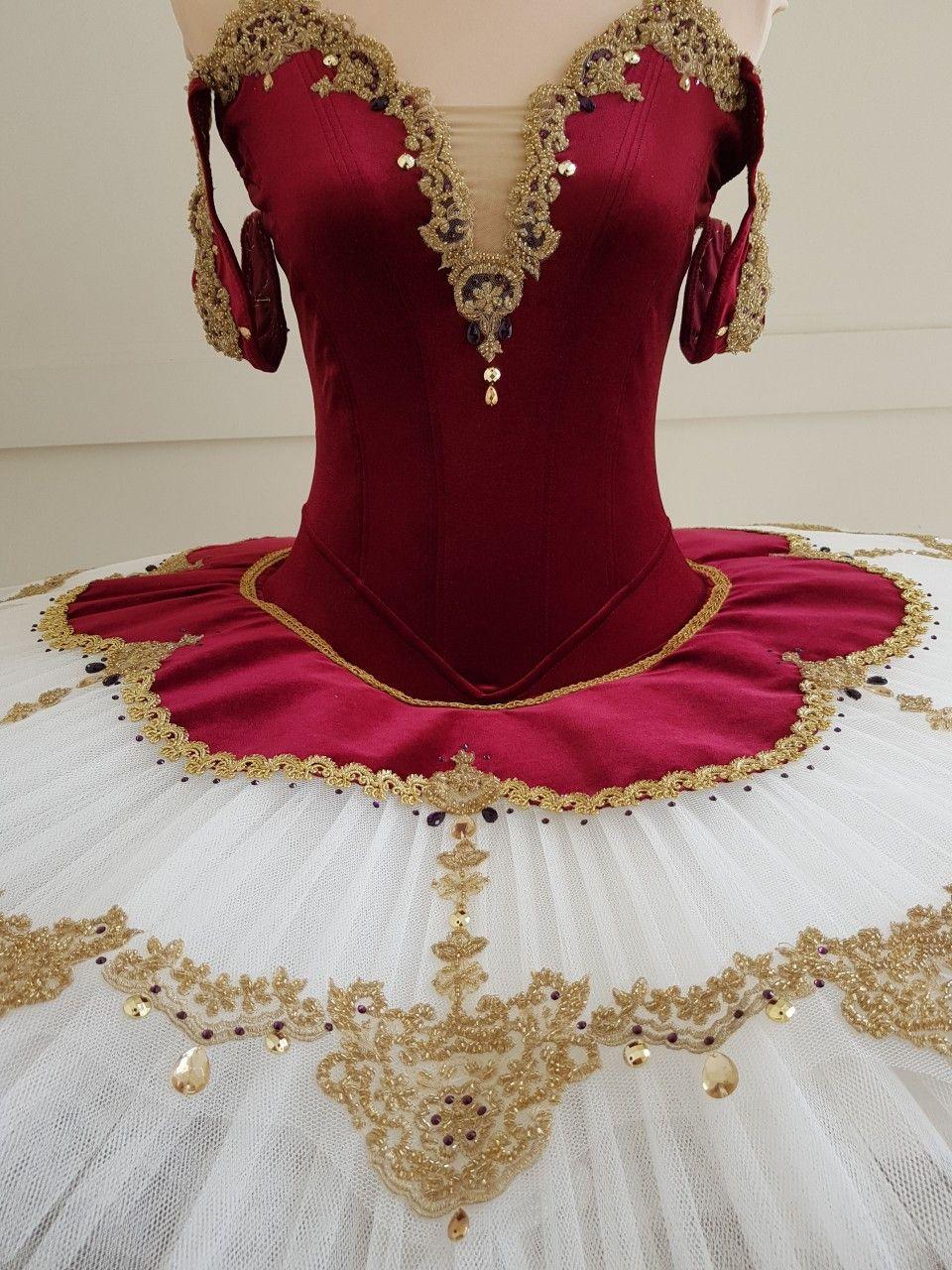 Gorgeous Wine Ivory Tutu With Gold Decorations Www Jetutus Com Au Tutu Costumes Classical Ballet Tutu Dance Costumes Ballet