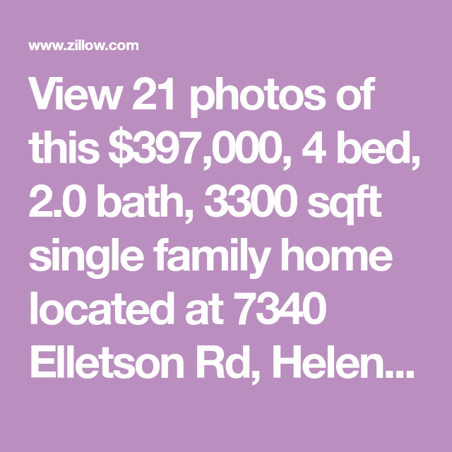 3 Bedroom Apartments Zillow: View 21 Photos Of This $397,000, 4 Bed, 2.0 Bath, 3300