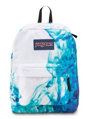 9c8d9fd138 The new JanSport SuperBreak Backpack in Multi Blue Drip Dye.