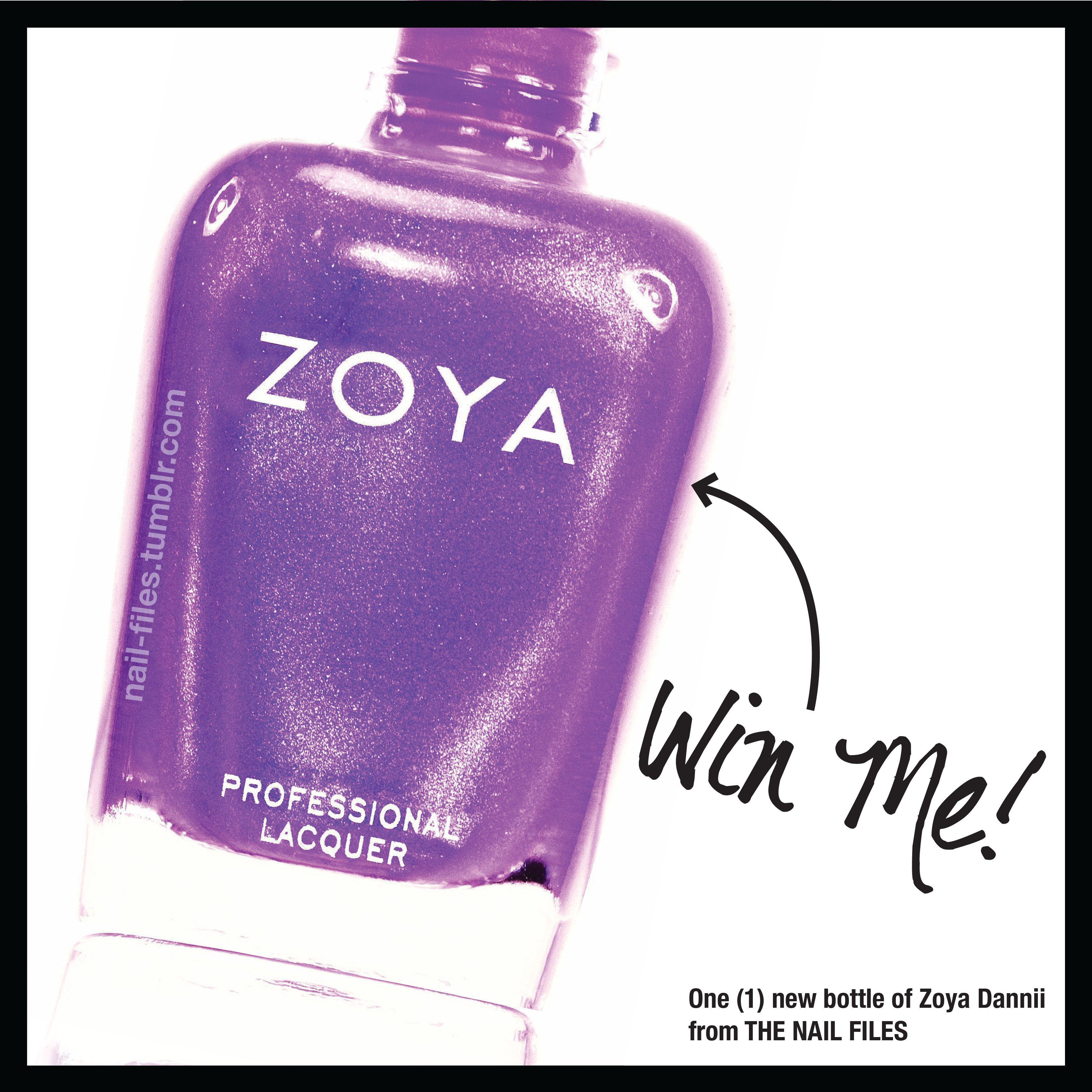 **CLOSED** #GIVEAWAY time! Enter to #WIN @Zoya Zinger Nail Polish Dannii!