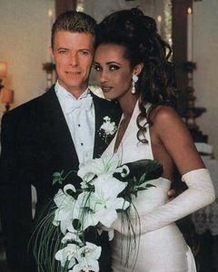 David Bowie Iman Wedding : david, bowie, wedding, David, Bowie, Wedding, Bowie,, Celebrity, Photos,, Bride