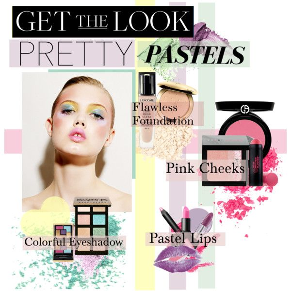 """""""Get the LOOK:Pretty Pastels"""" by bamaannie on Polyvore"""