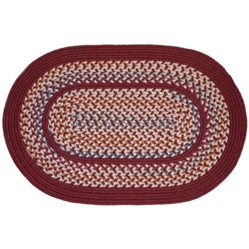 Rhody Rug Ta 42 6r Tapestry Red Wine 6 Ft Round Braided Rug By