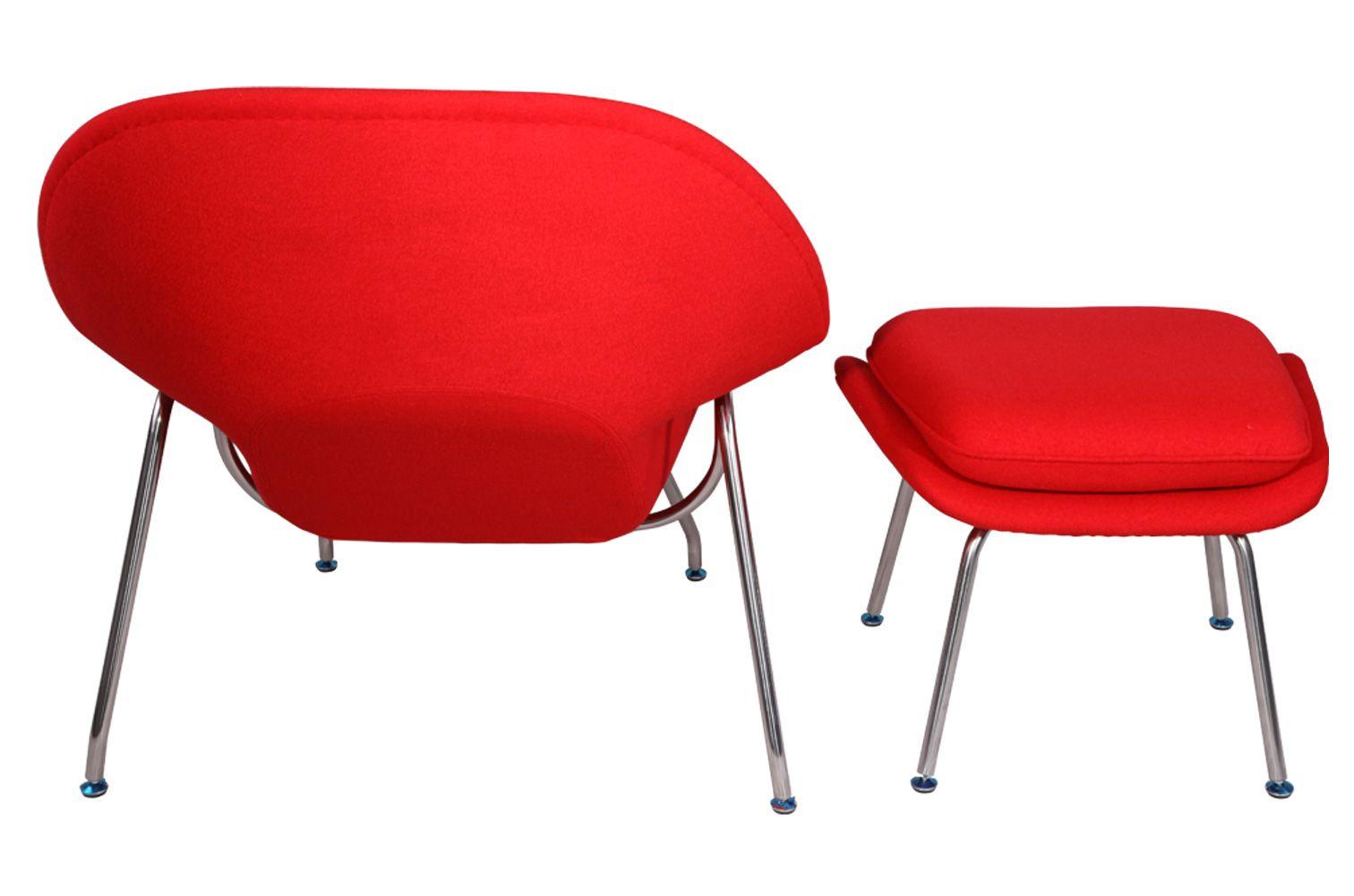 Mlf eero saarinen womb chair ottoman womb chair chair