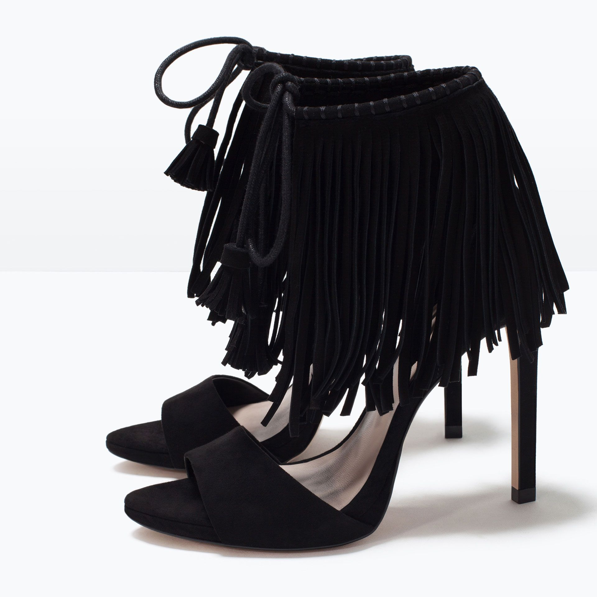 91c007dd8bf FRINGED HIGH HEEL SANDALS-Shoes-Woman-SHOES   BAGS