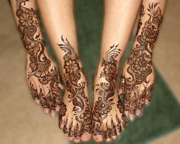 Mehndi Designs Hands And Feet : Mehndi designs for hands and feet