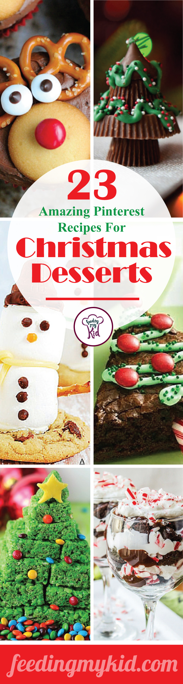 23 Amazing Pinterest Recipes For Christmas Desserts Christmas Desserts Yummy Christmas Treats Christmas Food