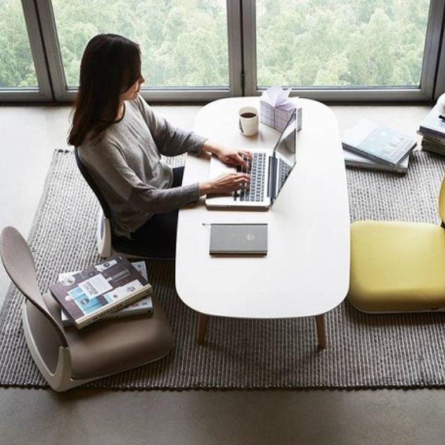 Ergonomic Low Chair Folding Floor Leather Seat Tatami Japanese Style Legless Pchair Asian Asian Home Decor Low Chair Diy Interior Decor