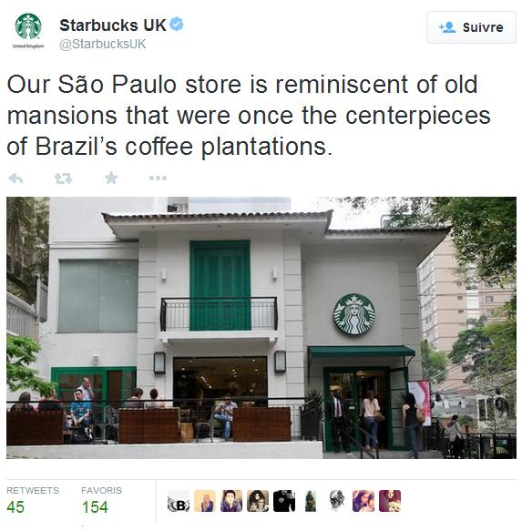 Great Twitter post from Starbucks UK in Liverpool, Liverpool/ Sympathique post Twitter de Starbucks UK à Liverpool, Liverpool https://twitter.com/StarbucksUK/status/527037099271127040
