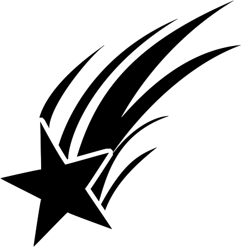 Black And White Shooting Star Gif Page 4 Pics About Space Escudo