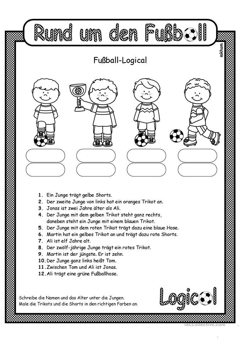 Fußball _ Logical 1 (überarbeitet) | U-Team | Language ...