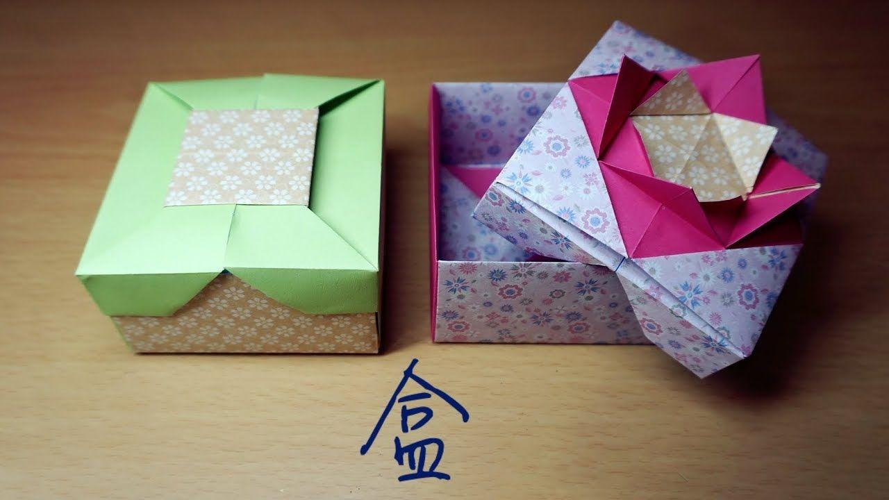 hello malinda origami tutorial box tomoko fuse w sub youtube [ 1280 x 720 Pixel ]