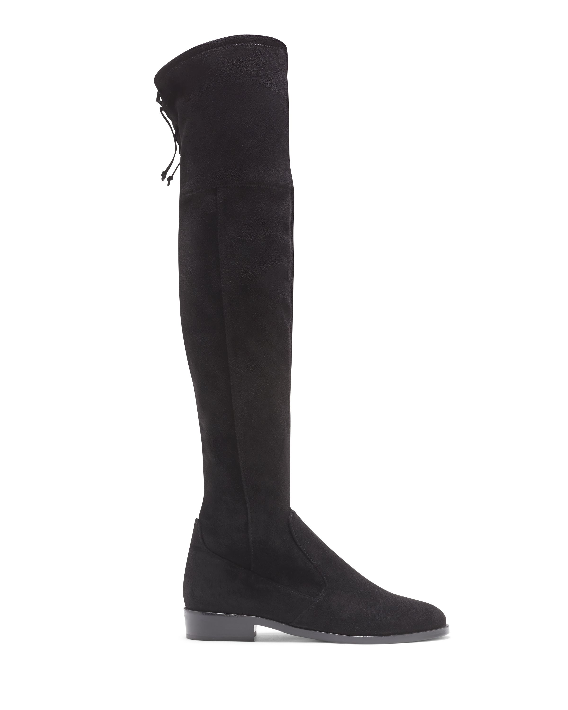 49d9deec49a ... exclusively at VinceCamuto.com and Vince Camuto Retail stores. The  flat-heel Crisintha boot makes it mark with an over-the-knee shaft and a  deliciously ...