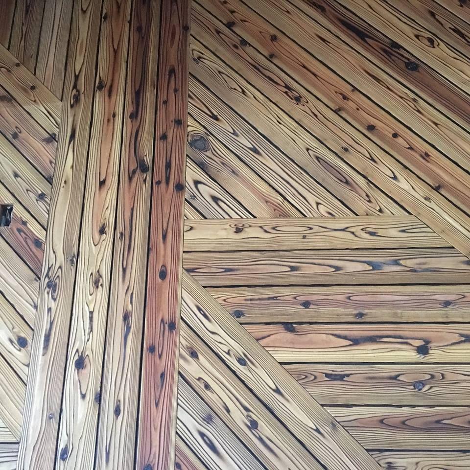 Japanese Burnt Wood Home Remodeling Charred Wood Wood