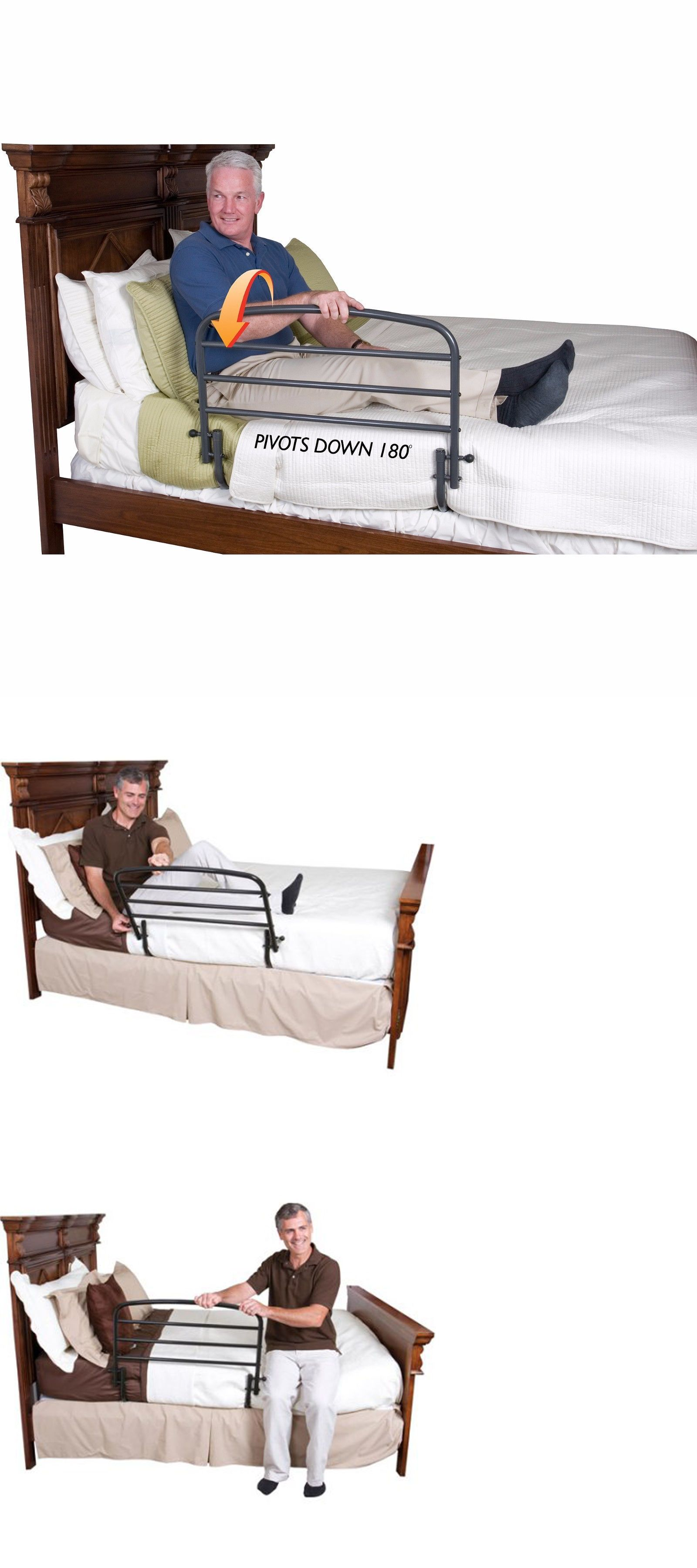 adjustable care drive rails elderly rassist and rail elde pin handles bed medical safety for handle seniors adult
