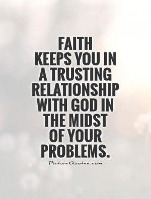 I Got Your Back You Got Mine Relationship With God Quotes