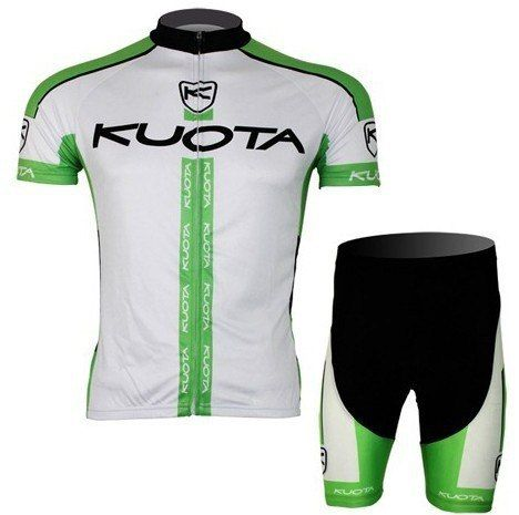7f24c3ac1 2013 Pro HQ!!! KUOTA Green Short Sleeve Cycling Jersey Wear Clothes ...