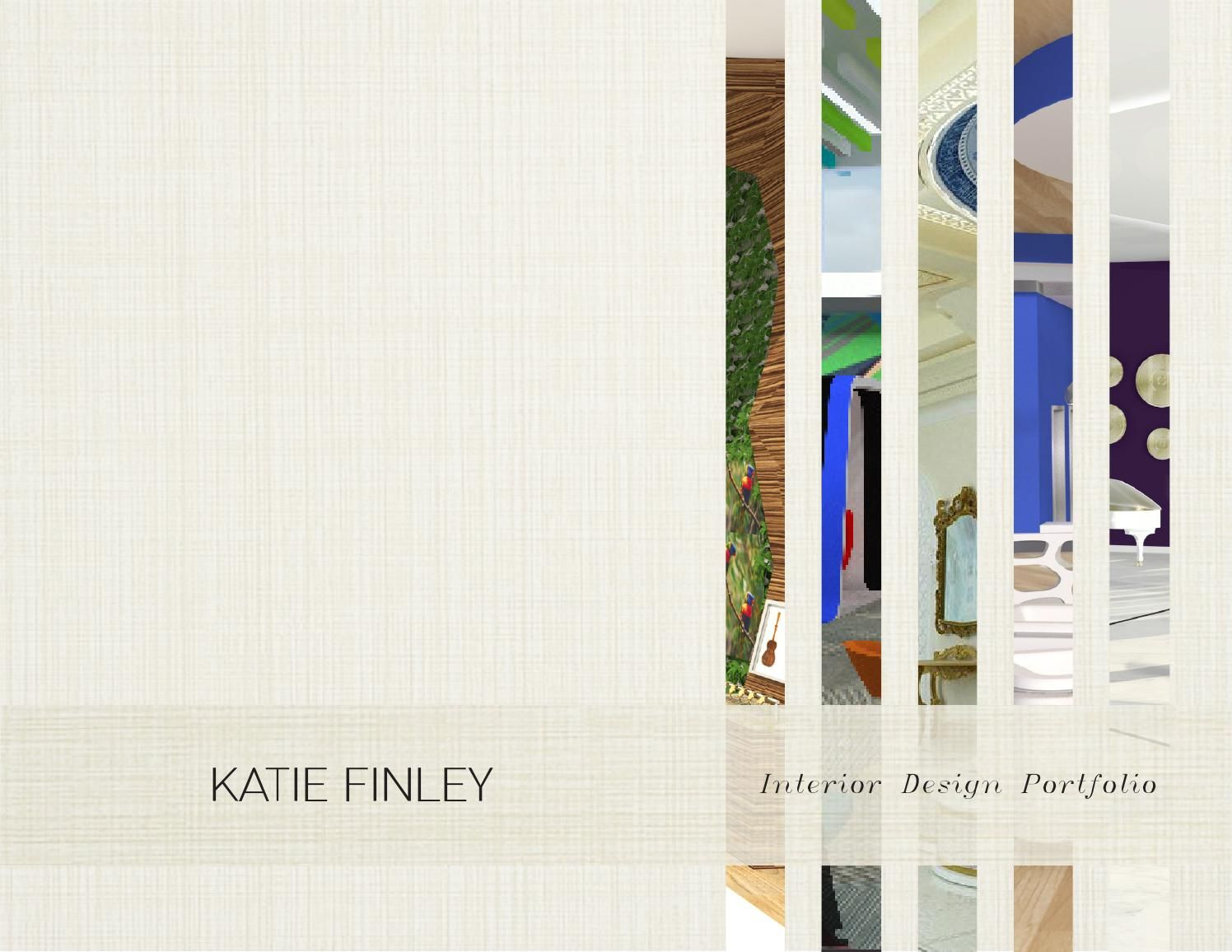 interior design portfolio layout