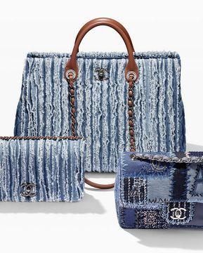 Is denim the new luxury? Chanel uses denim in their $3000 handbags
