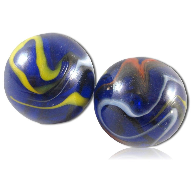 Custom 1 3 8 Inch 2 Huge Size Round Glass Marbles W Etsy Glass Marbles Marble Glass